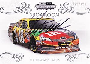 Buy AUTOGRAPHED Kyle Busch 2012 Press Pass Showcase SHOWROOM (#18 M&M's Racing) Insert NASCAR SIGNED Trading Card #429... by Trackside Autographs