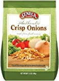 Seneca Farms Authentic Crisp Onions,3.5-Ounce Bags (Pack of 12)