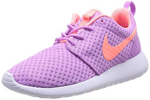 Nike Wmns Rosherun Br, Scarpe sportive, Donna, Multicolore (Fuchsia Glow/Lava Glow-White), 40