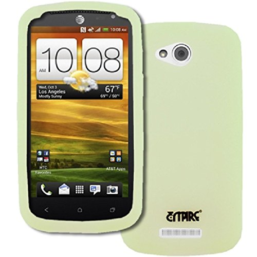 Click to buy Empire Flexible Silicone Skin Glow in the Dark Green Case for HTC One VX - From only $28.99