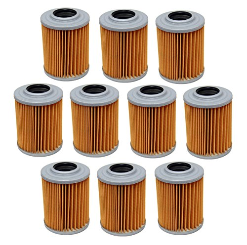 Factory Spec, FS-713, Ten Oil Filters Bombardier Can Am Outlander 800 R Max 800R HO EFI XT (Can Am Renegade 500 Oil Filter compare prices)