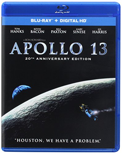 Blu-ray : Apollo 13 (20th Anniversary) (Anniversary Edition, Ultraviolet Digital Copy, Snap Case, Slipsleeve Packaging, Digital Copy)
