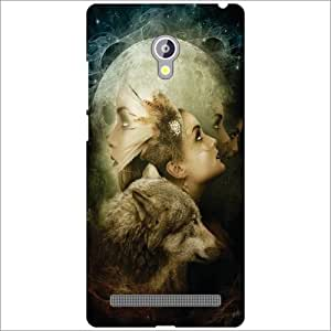 Asus Zenfone 6 A601CG Back Cover - Look High Designer Cases