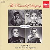 The Record of Singing, Vol. 5: 1953-2007 - From the LP to the Digital Era
