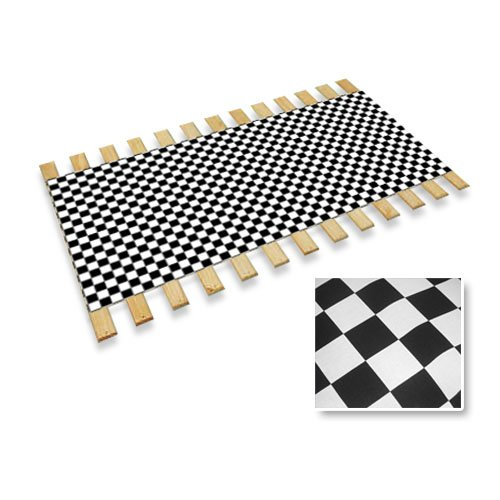 Checker Flag Race Car Nascar Racing Full Size Bed Slats Bunkie Board Support Roll front-1022783