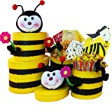 Art of Appreciation Gift Baskets Queen Bee Cookie and Treats Gift Tower