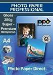 A4 Inkjet Premium Gloss Photo Paper -...