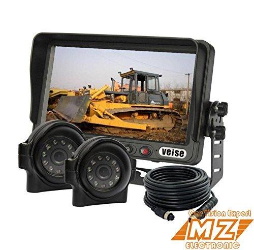 cran-LCD-TFT-178-cm-vue-arrire-arrire-jusquRecul-Arrire-Camra-Systme-Kit-dobservation-Cab-Vido-Systme