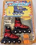 Finger Roller Skates - Mini Extreme Rollerblades (Assorted Colors)
