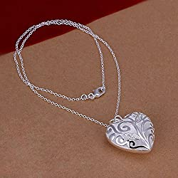 Y2CGems Fashion Necklaces for Women 14 Heart Pendant Necklace 925 Silver Jewelry Christmas Gift Womens Jewellery SPCN224 custom 925 sterling silver jewelry from Y2CGems