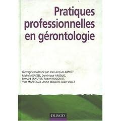 Les pratiques professionnelles en Gérontologie