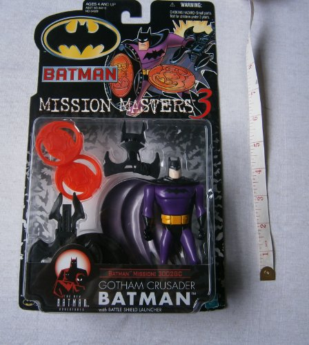 Batman: The New Batman Adventures Mission Masters 3 Gotham Crusader Batman Action Figure