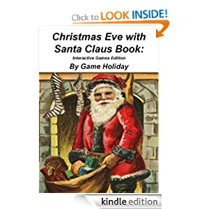 Christmas Eve with Santa Claus Book: Interactive Games Edition