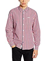 Pepe Jeans London Camisa Hombre Mercury (Rojo)