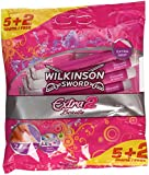 Wilkinson Sword Extra 2 Beauty Disposable Razors - Pack of 2, Total of 10 Razors
