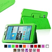Fintie (Green) Slim Fit Folio Case Cover For Samsung Galaxy Tab 7.0 Plus / Samsung Galaxy Tab 2 7.0 Tablet-Multiple...