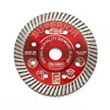 Saw Blade: D-tec Drb-04mps 4-inch Superior Turbo Diamond Blade By D-tec - Model: Drb-04mps