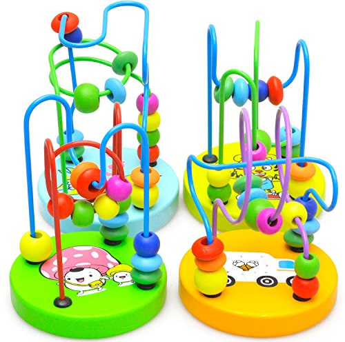 Creation-Colores-de-madera-mini-alrededor-de-bolas-de-juguete-educativo-1PC-Nueva-nios-de-los-nios-del-beb-El-color-puede-variar