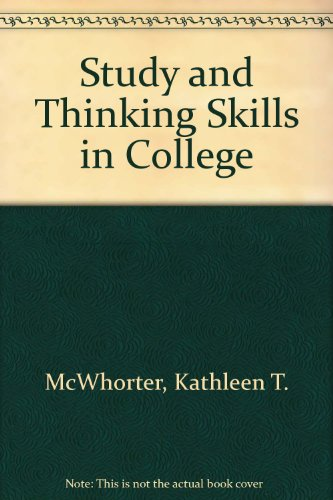 Study and Thinking Skills in College