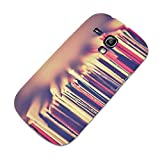 Vintage 018 Vinyl Record Ultrathin Hard Gel TPU Case Cover Skin Shell Protector with Colourful Design for Samsung Galaxy S3 Mini i8190