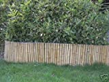 NEW 1.5m x 18cm Bamboo Garden Border. Lawn Edging
