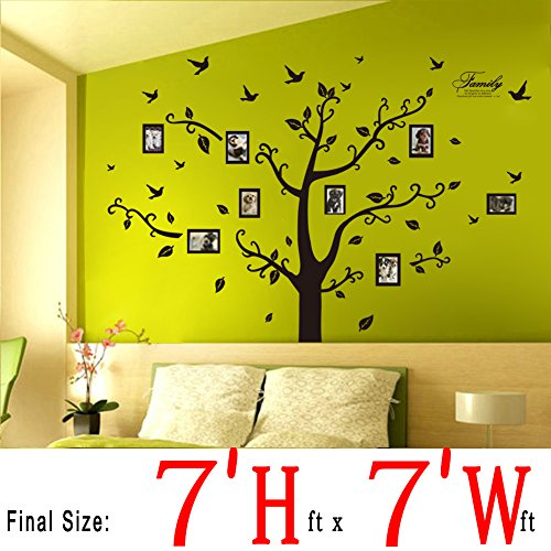 dagou wall stickers murals wall decals wallpaper glow in. Black Bedroom Furniture Sets. Home Design Ideas