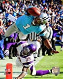 Cam Newton - Carolina Panthers 2011 Action Glossy Photograph Photo Print at Amazon.com