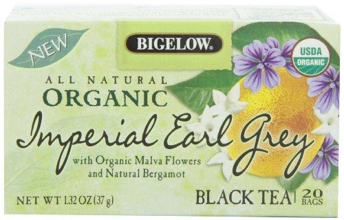 Bigelow Organic Imperial Earl Grey, 1.32 Ounce Box