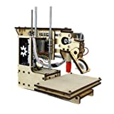 "Printrbot Simple 3D Printer Kit, PLA Filament, 1.75mm Ubis Hot End, 4"" x 4"" x 4"" Build Volume"