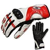 Skihandschuhe von PROANTI® Leder Ski Racing Handschuhe wasserdicht - Größen: