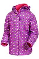 Target Dry Ladybug Girls Printed Raincoat