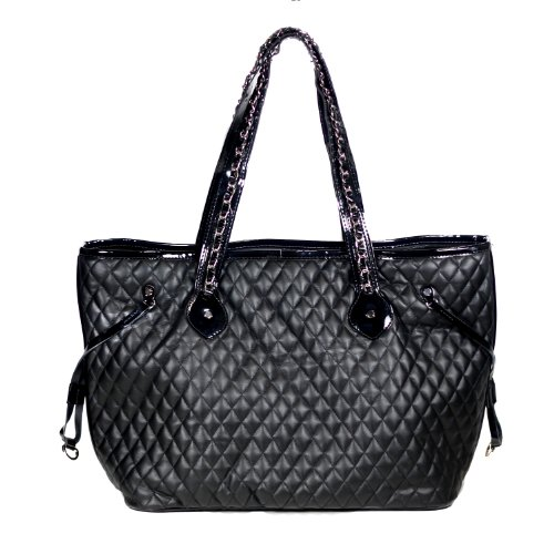 Mia Bossi Quilted Diaper Bag, Emma front-570382