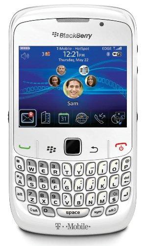 BlackBerry Curve 8520 Phone, White (T-Mobile)