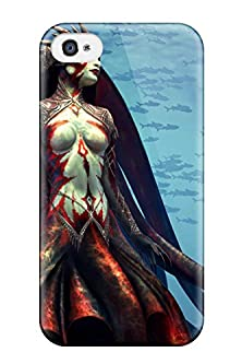 buy Tpu Case Cover For Iphone 4/4S Strong Protect Case - Mistress Of The Kraken Design