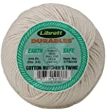 Librett Durables Butchers Twine, Cotton, 370-Feet