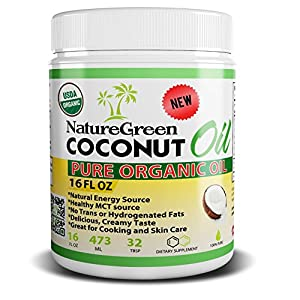 Coconut Oil-PURE ORGANIC COCONUT OIL -Weight Loss Benefits-Best