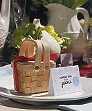 Miniature Woven Picnic Basket W9155 Quantity of 6