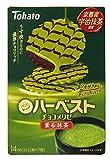 東ハト ハーベストチョコメリゼ 薫る抹茶 14枚×6袋