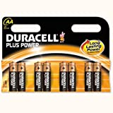 Duracell Plus Battery Alkaline 1.5V AA Ref MN1500B8 [Pack 8] (MN1500B8)