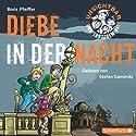Diebe in der Nacht (Unsichtbar und trotzdem da! 1) Hörbuch von Boris Pfeiffer Gesprochen von: Stefan Kaminski