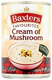 Baxters Favourites Cream Of Mushroom Soup 400 g (Pack of 12)
