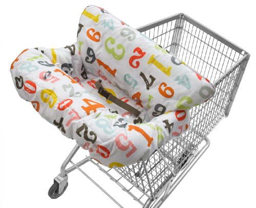 Sale!! Infantino Cloud Cart Cover, Numbers