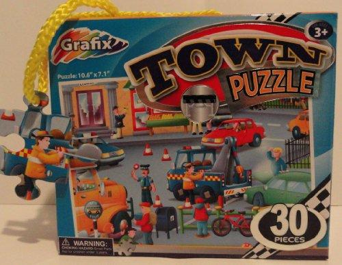 Grafix 30 Piece Town Puzzle