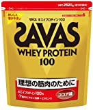 ザバス ホエイプロテイン100 ココア味【120食分】 2,520g