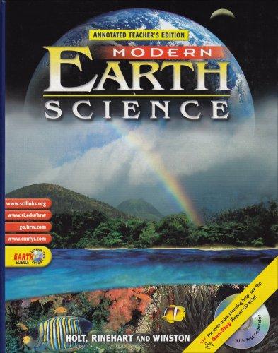 Modern Earth Science, Annotated Teacher's Edition