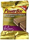 PowerBar Performance Energy Wafer Cookie, Berry Yogurt, 1.41 Ounce (Pack of 12)