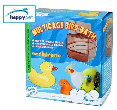 Image of None (Happypet) Multicage Bird Bath (B007DK9ZYW)