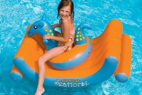 Sea Horse Pool Rocker by Swimline
