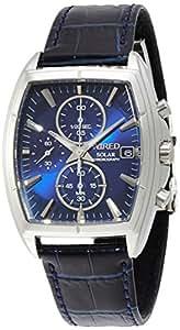 [ワイアード]WIRED 腕時計 ソーラー カーブハードレックス 日常生活用強化防水(10気圧) AGAD056 メンズ