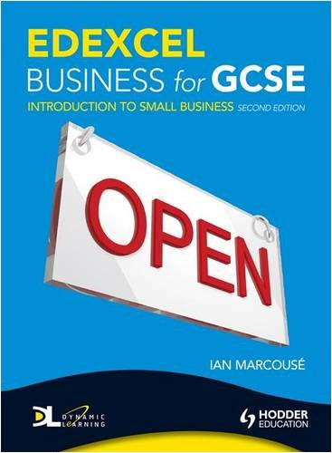 Edexcel Business for Gcse: Introduction to Small Business